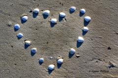 Amour sur la plage